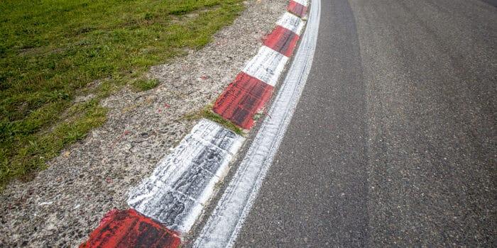 Curbstones op Circuit Zandvoort