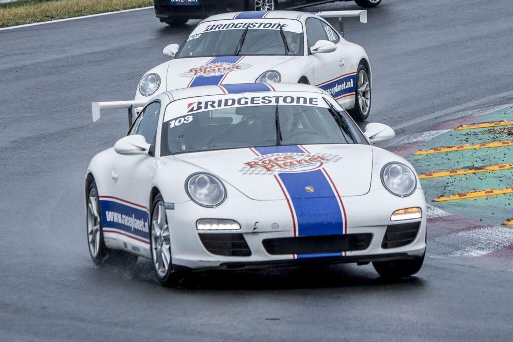 Porsches van Race Planet in actie op Circuit Zandvoort